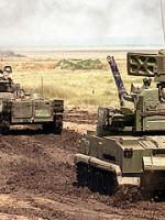 ЗПРК «Тунгуска-М1» ведет бой по всем правилам