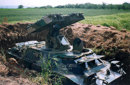 """Зенитно-ракетный комплекс 9К31 """"Стрела-1"""" 1"""