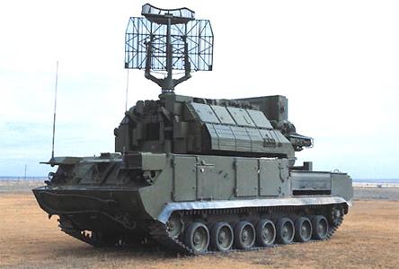 "Самоходный ЗРК 9К330 ""Тор"" 1"