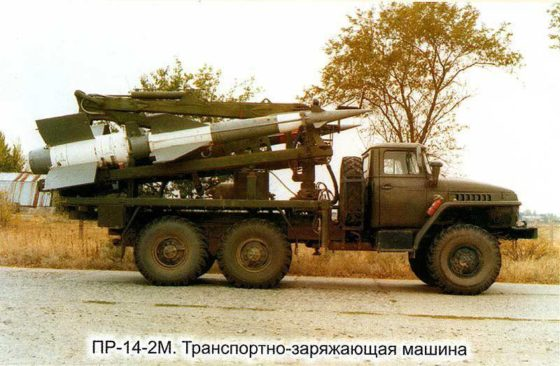 """Зенитно-ракетный комплекс С-125М """"Нева-М"""" 1964 14"""