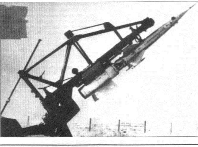 ZUR V-600 na puskovoi ustanovke
