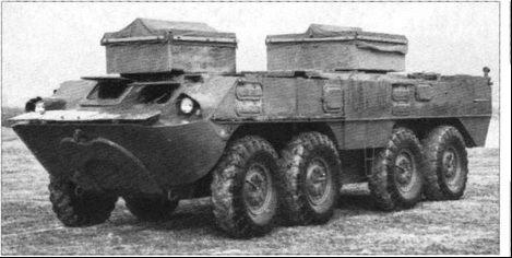 """""""Объект 1040"""", догруженный балластом массой 5т, на испытаниях 1964-1965"""