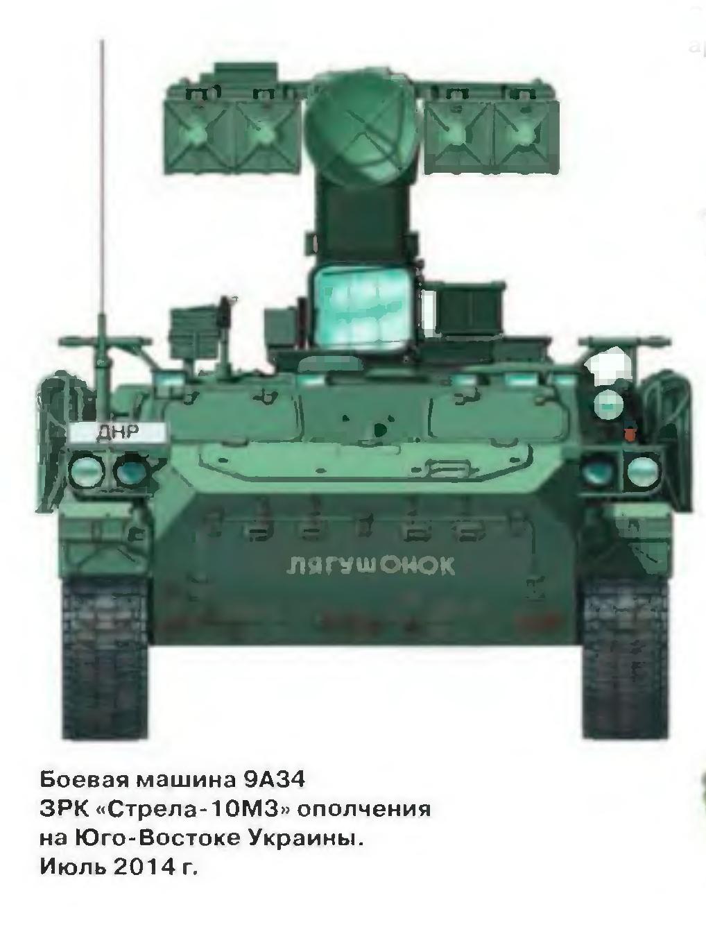 """БМ 9А34 ЗРК """"Стрела-10М3"""""""