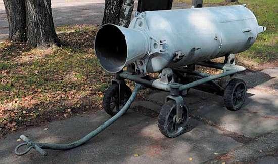Пороховой ракетный двигатель ПРД-58