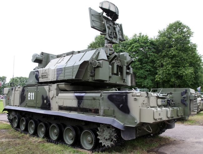 "Боевая машина 9А331М ЗРК 9К331М ""Тор-М2"""