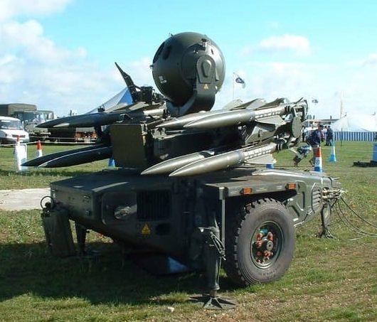 ЗРК Rapier-2000 (FSC)