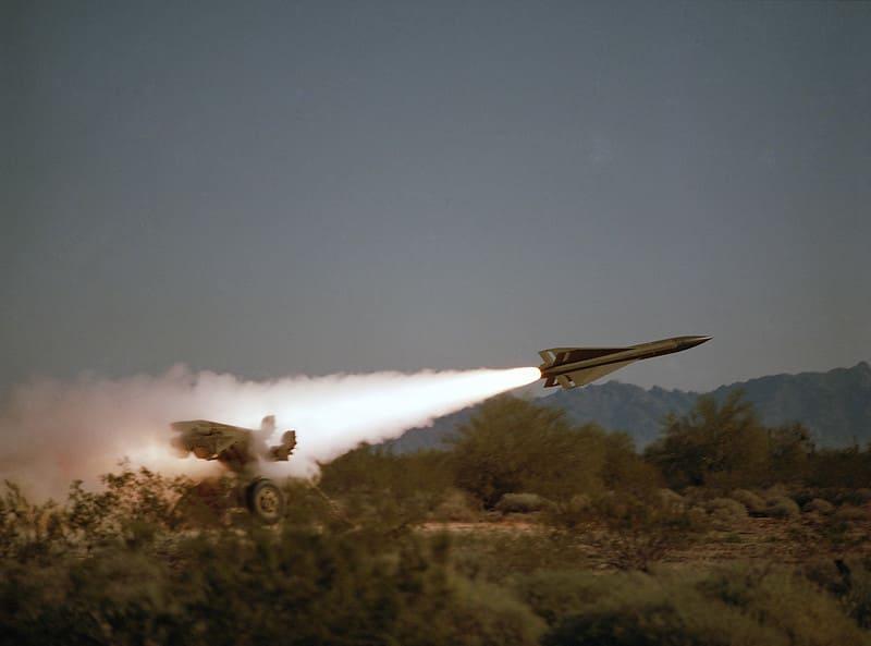 Пуск ЗУР MIM-23 Hawk