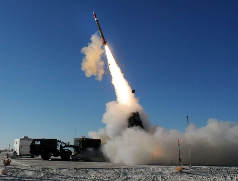 Пуск ракеты PAC-3MSE