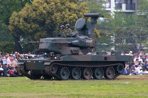 Японская зенитная самоходная установка